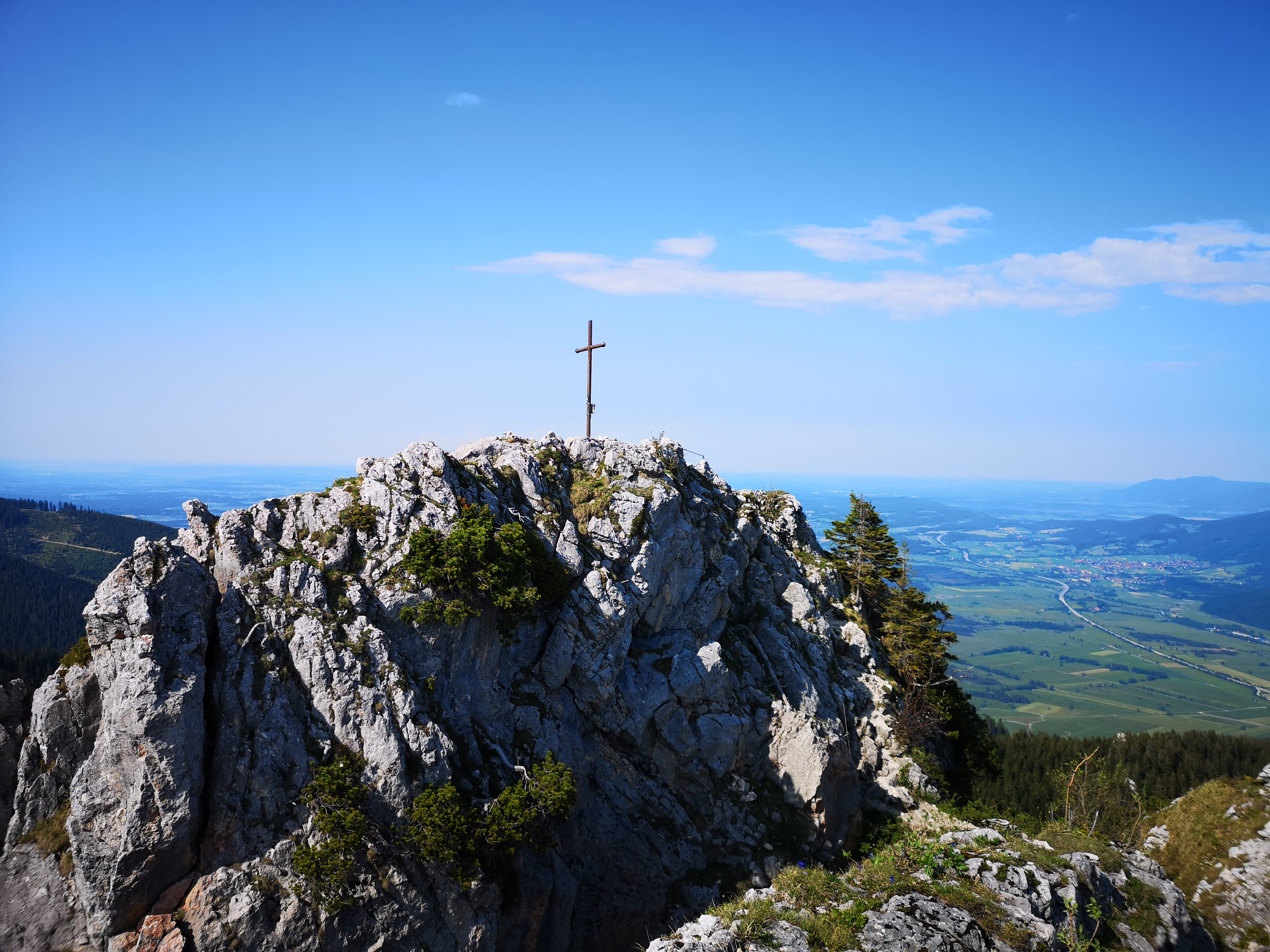Bergtour - Ettaler Manndl - Gipfel